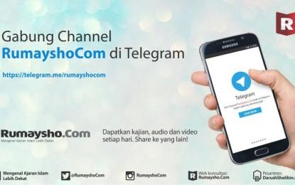 Join dengan Channel Rumaysho.Com di Telegram