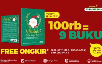 Promo Paket Buku: Natal, Hari Raya Siapa (Hanya 6 Hari)