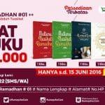 Paket Ramadhan #01, 160 Ribu Dapat 8 Buku (s/d 15 Juni 2016)