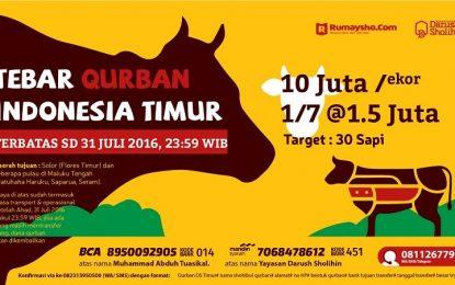 1,5 Juta Rupiah Sudah Bisa Qurban untuk Indonesia Timur (DITUTUP)
