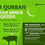 Gunungkidul Membutuhkan Qurban (edisi ketiga tahun 1437 H)