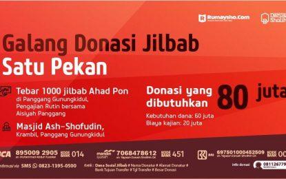Dukung 1000 Jilbab untuk Panggang Gunungkidul