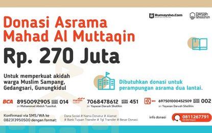 27.000 Rupiah untuk Sampang Gedangsari