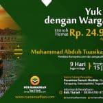Umrah Hemat bersama Ustadz M. Abduh Tuasikal dan Warga Desa (15-01-2017)