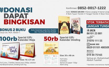 Kalender Rumaysho 2017 Plus Dua Buku Aktual dan Terbaru (50 atau 100 Ribu)