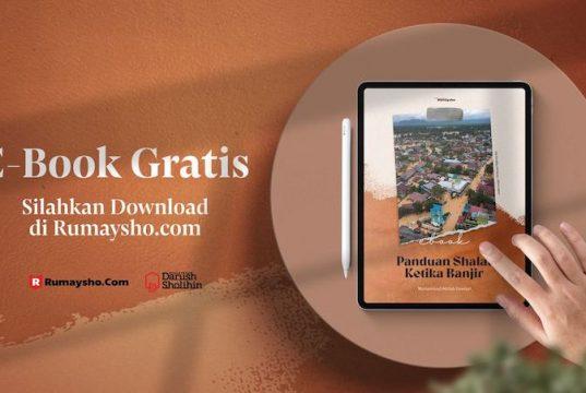 Buku Gratis - Panduan Shalat Ketika Banjir